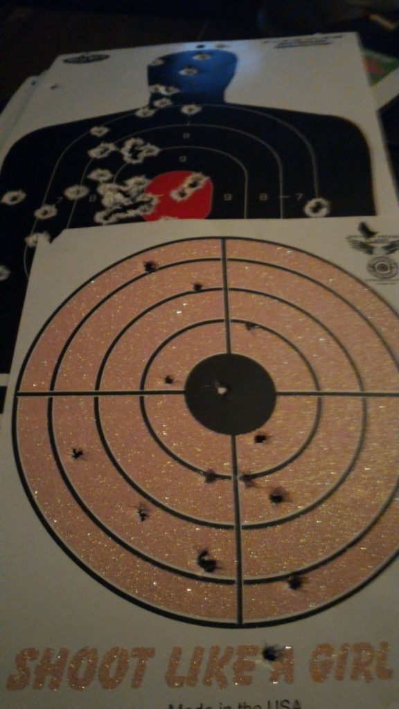 Is the Shoot Like A Girl target mine? Yes it is.